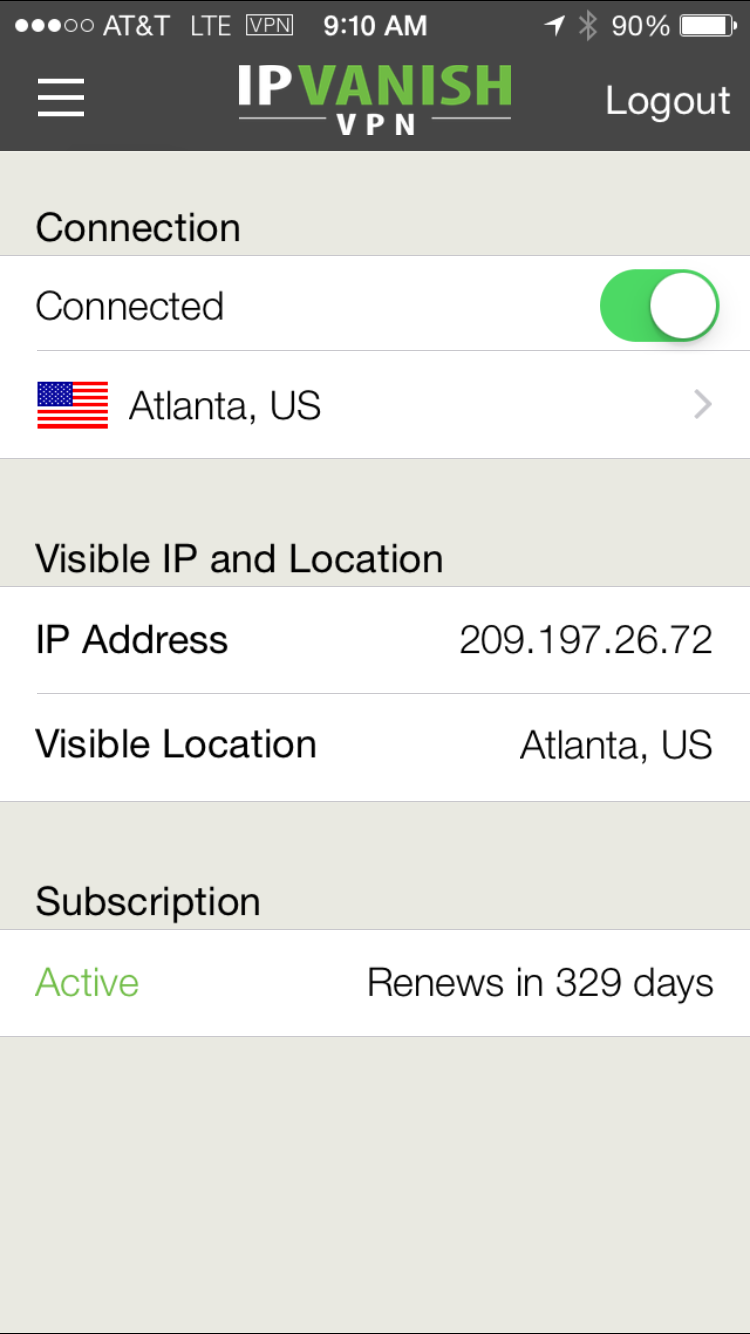 IPV iOS Connected